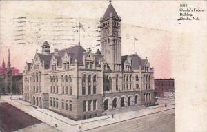 Nebraska Omaha Federal Building 1906