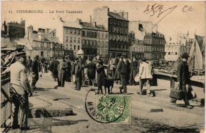 CPA  Cherbourg - Le Pont Tournant  (632610)