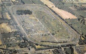 500 Mile Speedway Automobile Racing, Race Car Postcard Indianapolis, Indiana,...