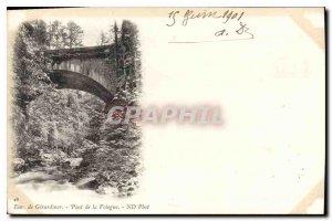 Postcard Old Approx Gerardmer Bridge Vologne