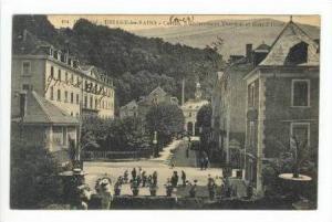 URIAGE-les-BAINS-Casino, Etablissement Thermal et Grand Hotel, France 00-10s