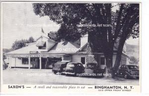 Saxon's Restaurant, Binghamton NY