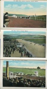 Tijuana Mexico Casino monte Carlo Sunset Inn Race Track postcard folder