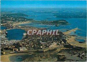 Modern Postcard Saint Malo Ille et Vilaine City Close and basically the Port ...