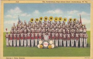 PARKERSBURG, West Virginia , 30-40s High School Band