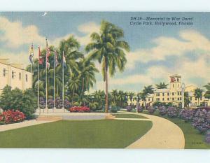 Linen PARK SCENE Hollywood - Near Miami Florida FL hk7360
