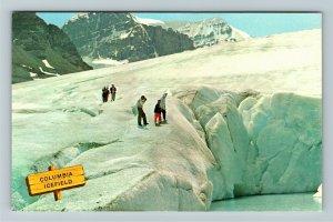 Alberta- Canada, Columbia Ice Fields, Athabasca Glacier, Chrome Postcard