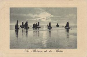 Le Retour de la Peche, Sailboats, Belgium, 10-20s