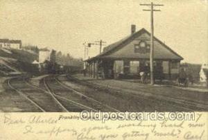 Franklin, Station, Franklin, NH, New Hampshire, USA Train Railroad Station De...