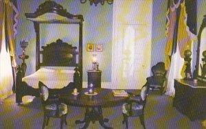Louisaiana White Castle Nottoway Plantation Master Bedroom