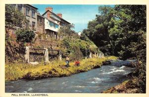 Llandyssul Pwll Shiwan Houses River