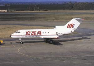 Czechoslovak Airlines OK-GEN YAK 40 C.S.A. on Tarmac