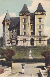 Le Chateau Et La Statue De Gaston Phebus, Pau, France, 1900-1910s