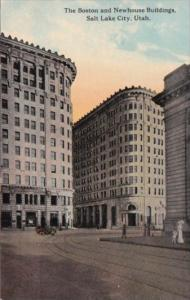 The Boston and Newhouse Buildings Salt Lake City Utah