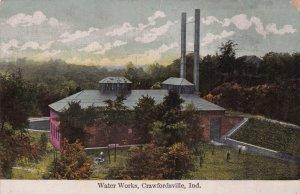 Indiana Crawsfordsville Water Works 1909 sk1370