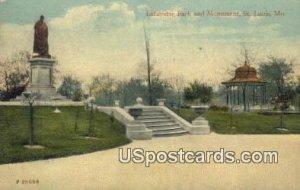 Lafayette Park & Monument in St. Louis, Missouri