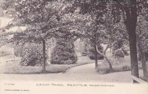 Washington Seattle Lechi Park