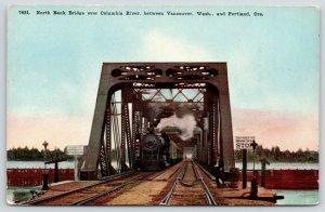 Vancouver WA-Portland OR~STOP! No Trespassing Signs~North Bank Draw Bridge~c1910