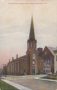 New York Rochester First German Lutheran Zion Church