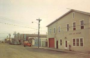 Nome Alaska Main Street Scene Historic Bldgs Antique Postcard K105861