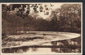Wales Postcard - Llangollen - Horse-Shoe Falls    RS7485