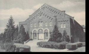 Michigan Adrian Walsh Hall Auditorium Building Siena Heights College Albertype