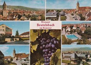 Germany Weinort Beutelsbach Im Remstal Multi View