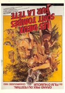 Les Dieux Sont Tombes Sur la Tete Movie Poster