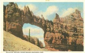 Walls of Jericho, Cedar Breaks , Southern Utah, 1920s unu...