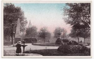 Portsmouth; Victoria Park PPC, c 1910's, Unposted, Milton's Sunset Series