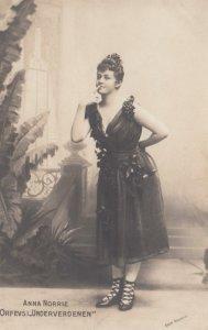 THEATRE / Theater ; Actress ; Anna Norrie , Orfevsi Underverdenen , 00-10s