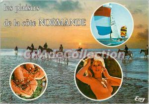 Modern Postcard Normandy Picturesque