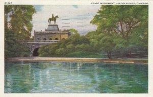 CHICAGO, Illinois, 1910-20s ; Grant Monument, Lincoln Park