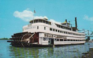Belle Of Louisville On The Ohio River Louisville Kentucky