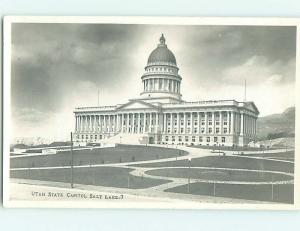 pre-1950 rppc STATE CAPITOL BUILDING Salt Lake City Utah UT Postcard j5839