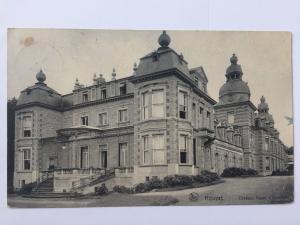 Royal Castle of Ardenne Chateau Royal D'Ardenne Belgium B&W Postcard A10