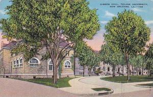 Gibson Hall, Tulane University, New Orleans, Louisiana, 30-40s