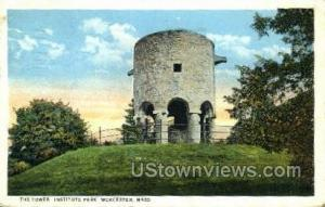 The Tower, Institute Park Worcester MA 1932