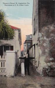 Florida St Augustine Treasury Street Treasury Street Narrowest Street In The ...