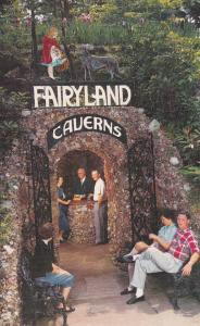 Near CHATTANOOGA, Tennessee, 1939-60s; Entrance to Fairyland Caverns, Rock City