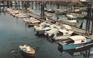 Finding a Parking Place, Boats, Vancouver Island, B.C., Canada, 40-60s