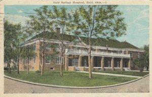 ENID, Oregon, PU-1949; Enid Springs Hospital
