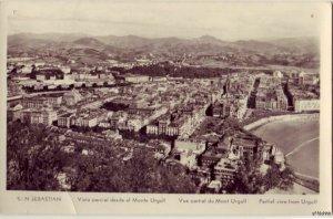 PARTIAL VIEW FROM URGULL SAN SEBASTIAN, SPAIN