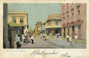 VERACRUZ , Mexico , 1907 ; Street