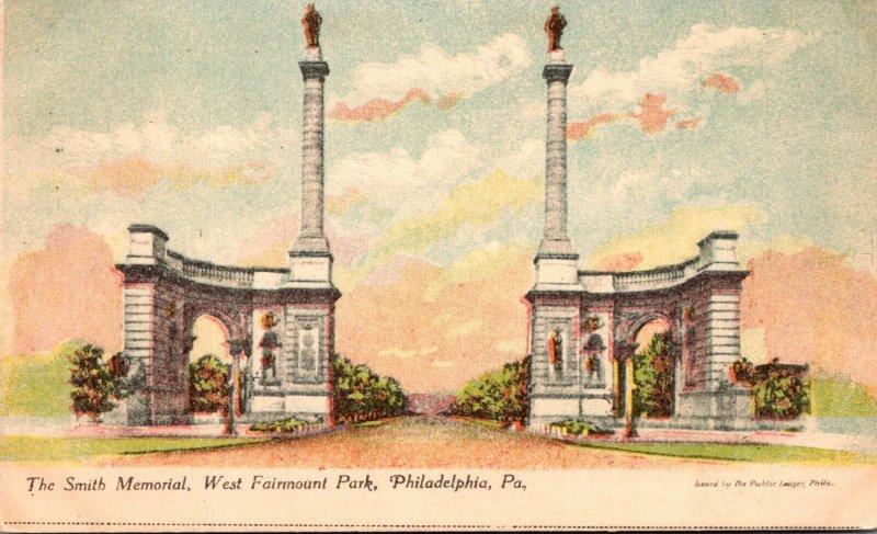 Pennsylvania Philadelphia West Fairmount Park The Smith Memorial