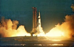 Florida John F Kennedy Space Center NASA Saturn 501 Apollo Saturn V Lift Off