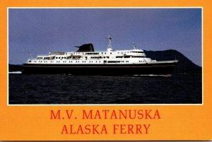 Alaska Ferry M V Matanuska