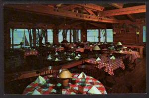 Frontier Dining Lake Lawn Lodge Delavan WI Post Card 5152