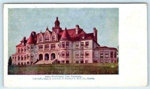 SEATTLE, WA ~ WASHINGTON STATE UNIVERSITY 1903 UDB  Postcard