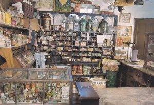 Gressenhall Norfolk Village Shop Sweets Confectionary Postcard